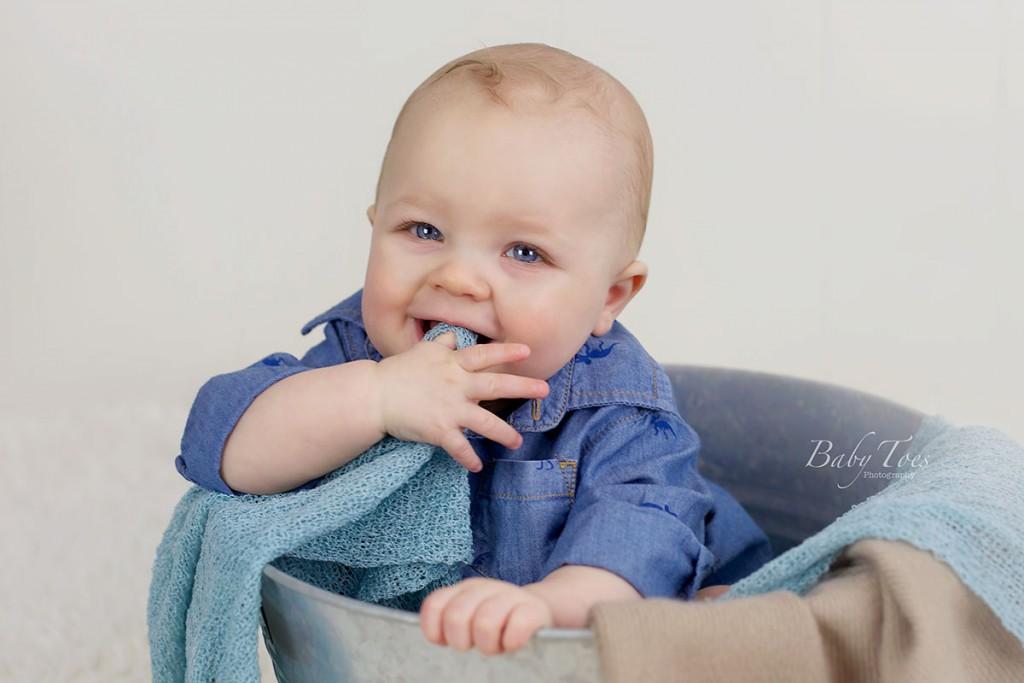 8 month portrait