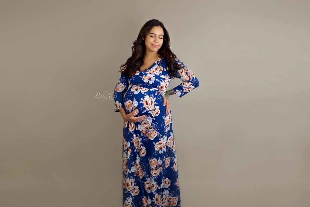 Studio Maternity Session Roanoke VA